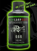Over Carp Bait Aroma 666 Hot Spice 100ml