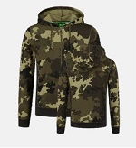 Korda Light Kamo Zip Hoodie BLACK FRIDAY