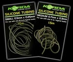 Korda Silicone Tubing 0.5mm colore Weedy Green 1.5m