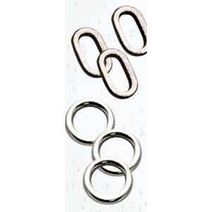 Big Fish Oval Rig Rings Large 10pz